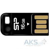 Флешка Silicon Power 16Gb Touch T02 Black