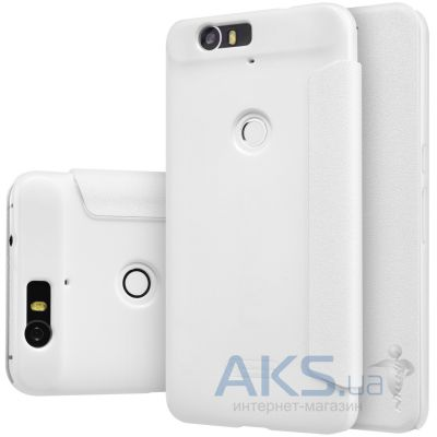 Чехол Nillkin Sparkle Leather Series Huawei Nexus 6P White