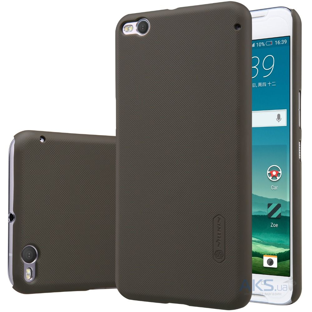 Чехол Nillkin Super Frosted Shield HTC One X9 Brown