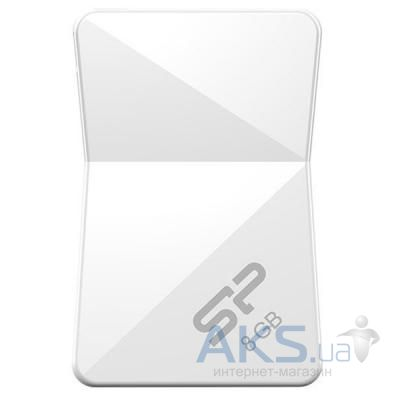 Флешка Silicon Power 8Gb Touch T08 White USB 2.0 (SP008GBUF2T08V1W)