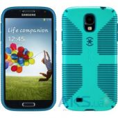 Чехол Speck for Samsung I9500 Galaxy S4 CandyShell Grip Caribbean Blue/Deep Sea Blue (SPK-A2060)