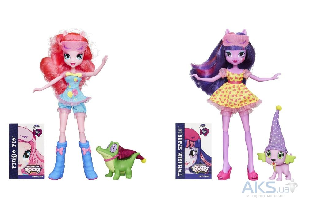 Игрушка Hasbro My Little Pony Кукла и Зверек серия MLP EG Doll, в ассорт. (B1070)