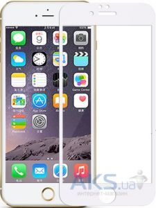 Защитное стекло Tempered Glass Perfect Full Apple iPhone 6, iPhone 6S White