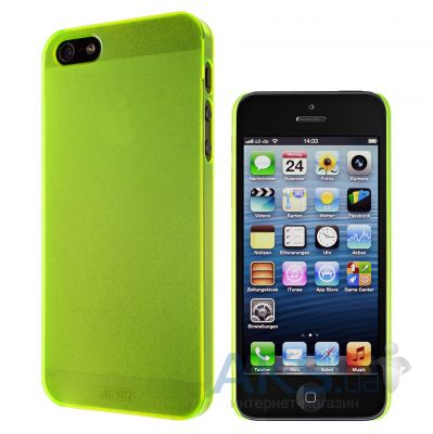 Вид 3 - Чехол Artwizz for iPhone 5 SeeJacket Clip Light NEON (AZ0609NY) Yellow