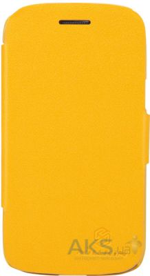 Чехол Nillkin Fresh Leather Series Samsung I8262 Galaxy Core Yellow