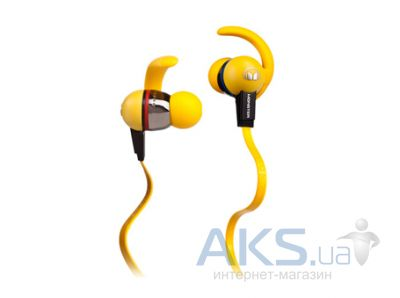 Наушники (гарнитура) Monster iSport LiveStrong Yellow (MNS-129693-00)