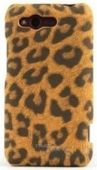 Чехол Nuoku Leopard Case Series HTC Rhyme S510b Leopard Brown