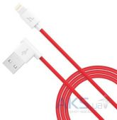 Кабель USB Hoco L Shape Lightning Red (UPL11)