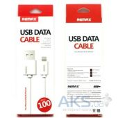 Вид 3 - Кабель USB Remax Classic Quick Charging Lightning IP5 Cable White