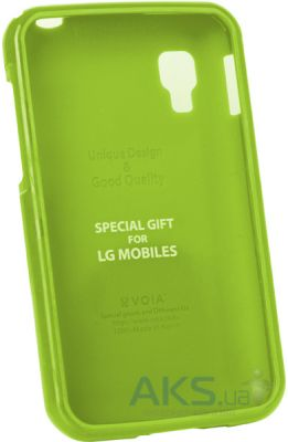 Чехол VOIA Jelly Case LG Optimus L4 II E445 Dual Lime