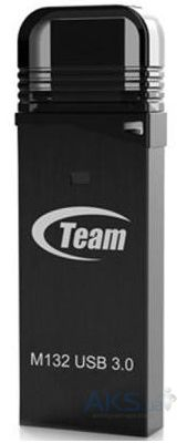 Флешка Team 16GB M132 USB 3.0 (TM13216GB01) Black