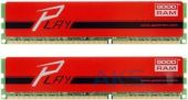 Оперативная память GooDRam DDR3 16GB (2x8GB) 1866 MHz PLAY Red (GYR1866D364L10/16GDC)
