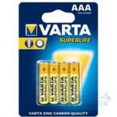 Батарейки Varta AAA (R03) SuperLife 4шт