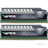 Оперативная память Patriot DDR4 16GB (2x8GB) 3000 MHz Viper Elite Gray (PVE416G300C5KGY)