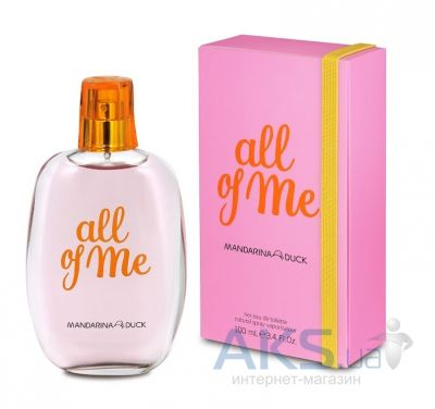 Mandarina Duck All of Me for Her Туалетная вода 30 мл