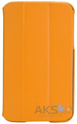 "Чехол для планшета JisonCase Premium Leatherette Smart Case for Samsung Galaxy Tab 3 7"" Orange (JS-S21-03H80)"