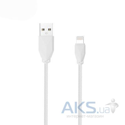Кабель USB AWEI CL-981 iPhone 5/6 White