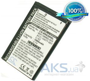 Аккумулятор Blackberry 8310 Curve / BAT-06860-003 / CS-BR8300SL (1000 mAh) CameronSino