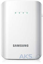 Внешний аккумулятор power bank Samsung EEB-EI1CWEGSTD (9000mAh) White (Реплика)