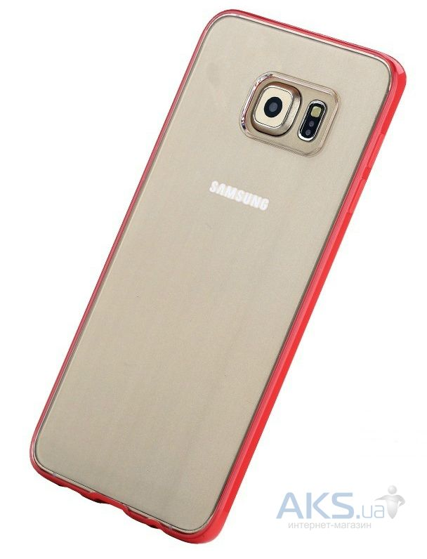 Чехол Rock Pure Series Samsung G928 Galaxy S6 Edge Plus Red