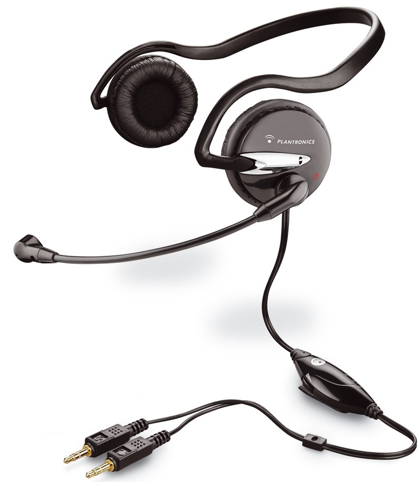 Гарнитура для компьютера Plantronics Audio 345 Black