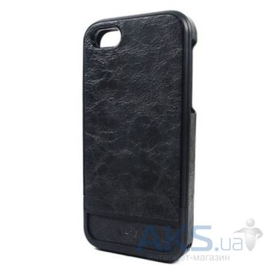 Чехол Lucien Elements Flagments Leather Series Black for iPhone 5/5S Black