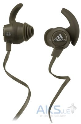 Наушники (гарнитура) Monster by Adidas® Sport Response™ Earbuds Olive Green