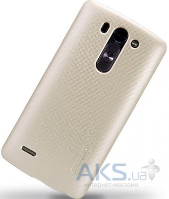 Чехол Nillkin Super Frosted Shield LG Optimys G3s D722, D724 Gold