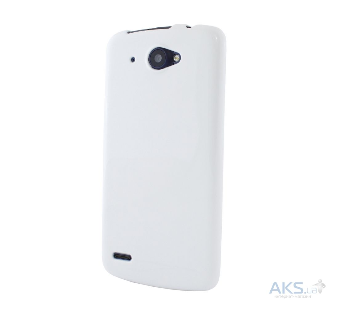 Чехол Celebrity TPU cover case for Lenovo A800 White
