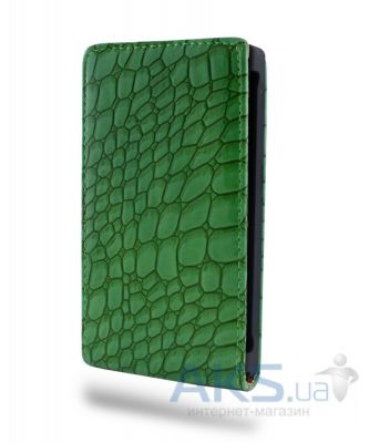 Чехол Atlanta Book case for Samsung i8190 Green (K32)