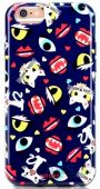 Чехол Mooke Meng Chong Series Case Apple iPhone 6, iPhone 6s 313 Deep Blue