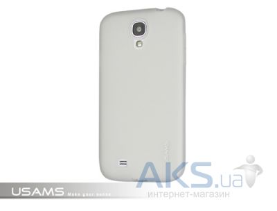 Чехол Usams Jelly for Samsung i9500 Galaxy S4 White