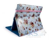 Вид 3 - Чехол для планшета Tuff-Luv Slim-Stand fabric case cover for iPad 2,3,4 Duck Egg (B2_36)