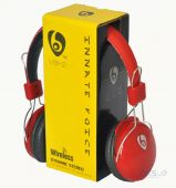 Наушники (гарнитура) NICHOSI Bluetooth Vykon V8-2 Black/Red