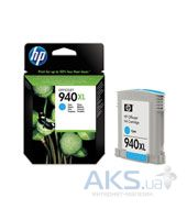 Картридж HP DJ No. 940 XL (C4907AE) Cyan
