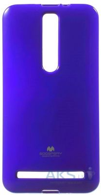 Чехол Mercury Jelly Color Series Asus Zenfone 2 ZE551ML, ZE550ML Blue