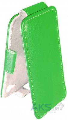 Чехол Sirius flip case Alcatel One Touch 8020d Hero Green