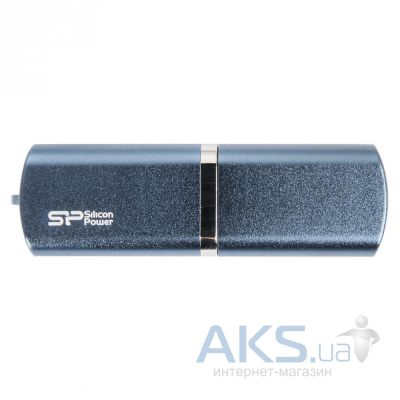 Флешка Silicon Power LuxMini 720 64GB (SP064GBUF2720V1D) Deep Blue