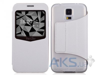 Чехол Momax Smart case for Samsung i9600 Galaxy S5 White (GVSAS5W)