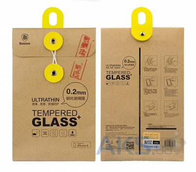 Защитное стекло Baseus Glass (0.2 mm) Apple iPhone 6/6S