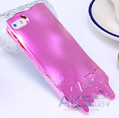 Чехол Marc Jacobs Fashion Melt Apple iPhone 5, iPhone 5S, iPhone 5SE Pink (MJ-MELT-PINK)