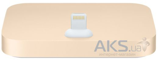 Док-станция Apple Dock station for iPhone 5/5S Gold (ML8K2)
