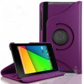 Вид 2 - Чехол для планшета TTX leatherette case Asus Google Nexus 7 New Purple