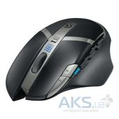 Компьютерная мышка Logitech G602 Wireless Gaming Mouse (910-003821) Black