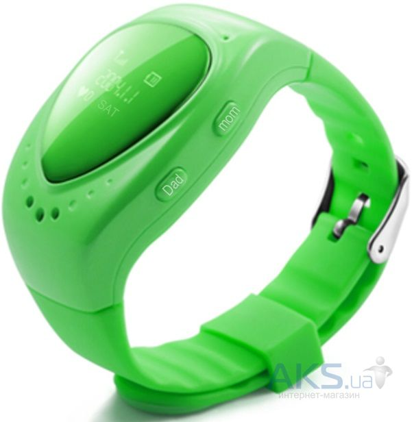 Умные часы SmartWatch Kids t50 GPS Tracking Green (CHWT50P)