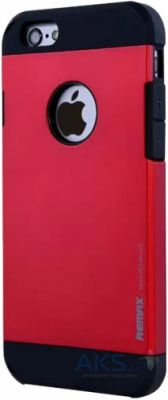 Чехол Remax Quichen Series Apple iPhone 6, iPhone 6S Red