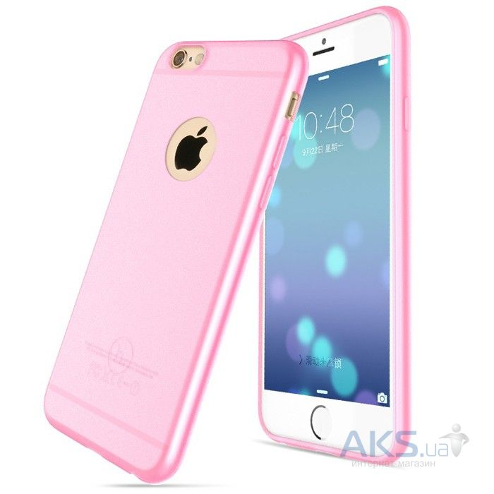 Чехол Hoco Light Series Frosted Apple iPhone 6, iPhone 6S Pink