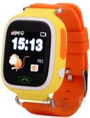 Умные часы Smart Baby Q100 GPS-Tracking, Wifi Watch (Orange)