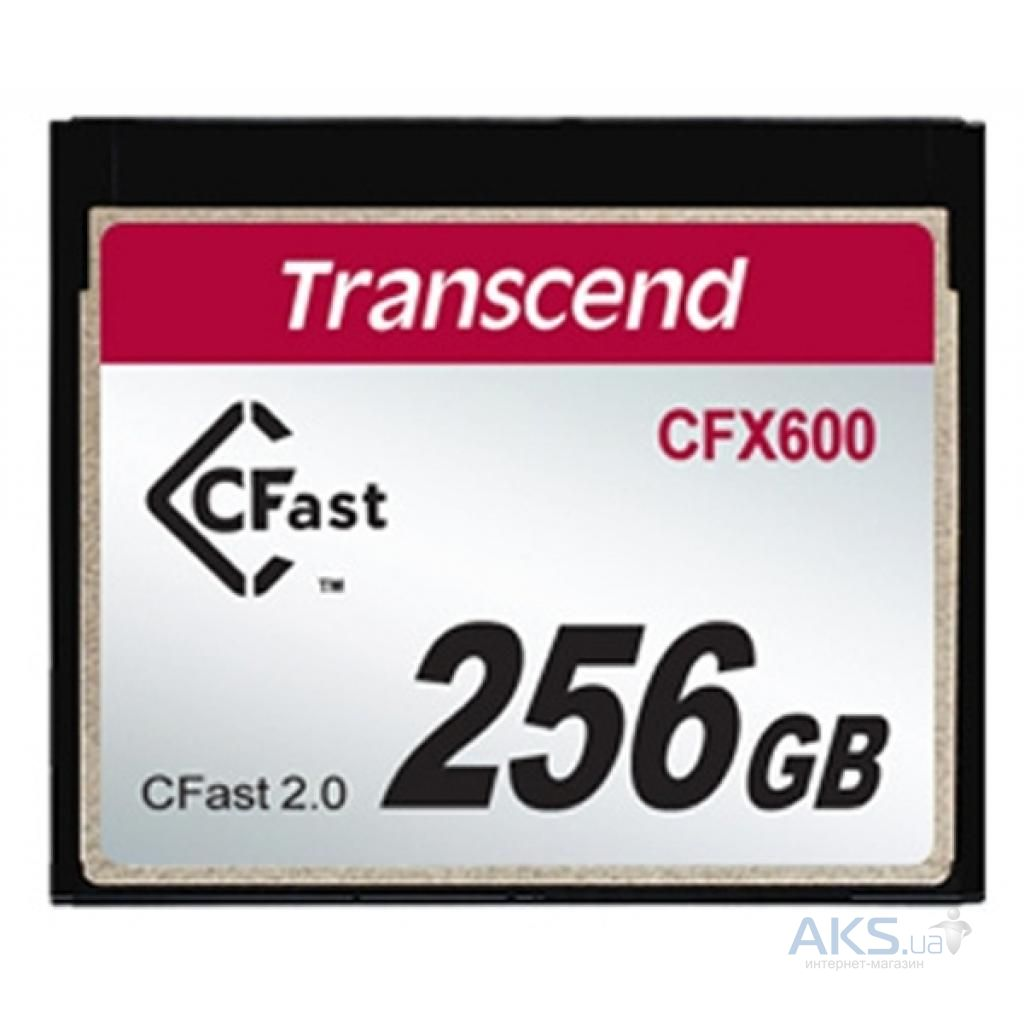 Карта памяти Transcend 256GB Compact Flash 600x (TS256GCFX600)