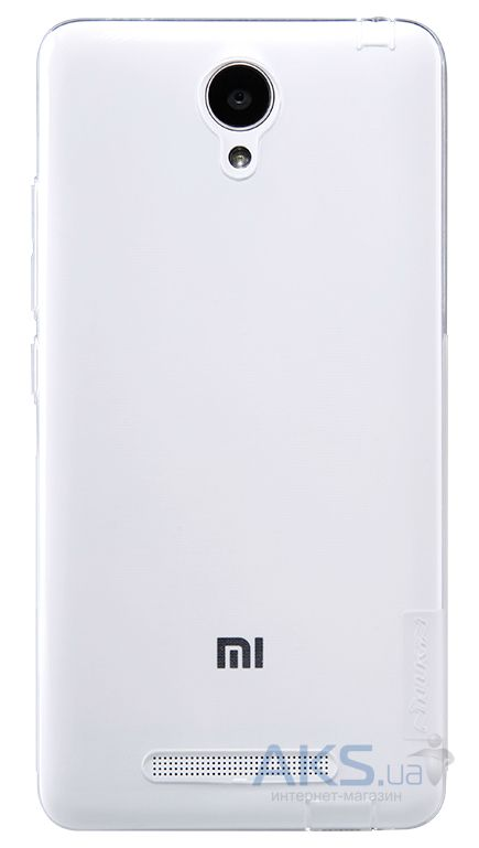 Чехол Nillkin Nature Series Xiaomi Redmi Note 2 Transparent